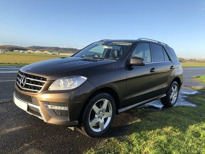 2013 Mercedes ML 250 os front