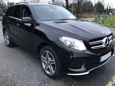 2016 Mercedes-Benz GLE 250d SUV front