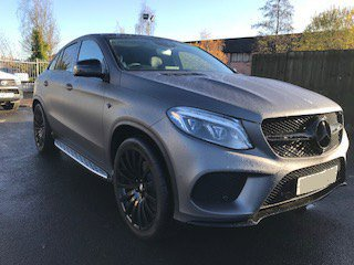 2017 Mercedes GLE 43 AMG Coupe front