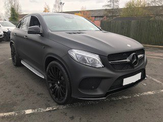 2017 Mercedes GLE 43 AMG coupe